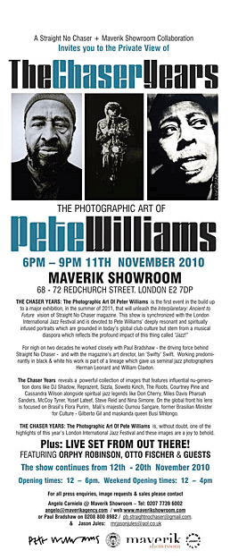 Maverik exhibition flyer